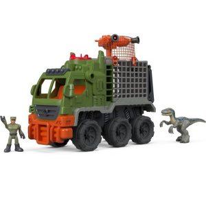 Игровой набор Бронетранспортер Dinosaur Hauler Jurassic World Imaginext