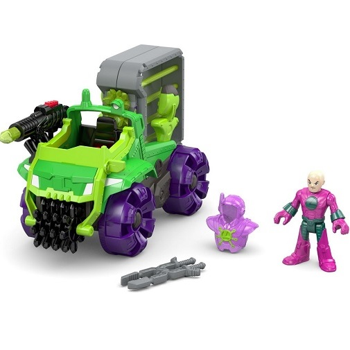 Игровой набор DC Super Friends Lex Hauler (машина и фигурка) Imaginext