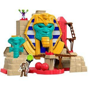 Игровой набор Пирамида Serpent Strike Pyramid Расхитители гробниц Imaginext
