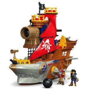 Игровой набор Пиратский корабль Укус акулы Shark Bite Pirate Ship Imaginext