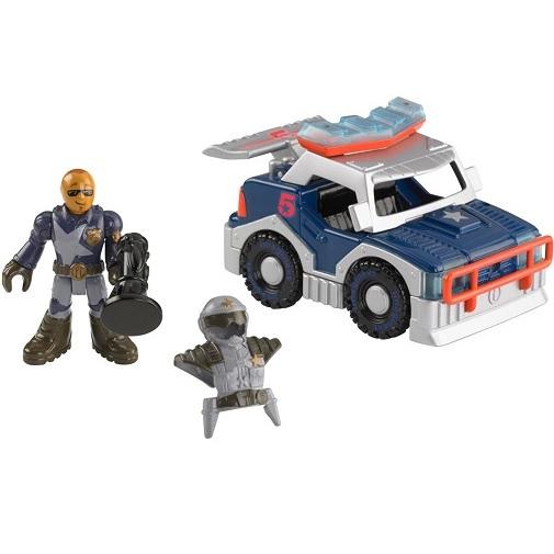 Игровой набор Полицейский автомобиль City Police Car Imaginext
