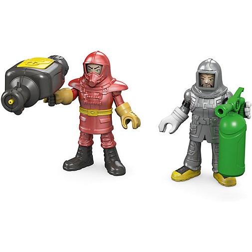 Игровой набор Пожарная команда (2 фигурки) Городские спасатели Imaginext