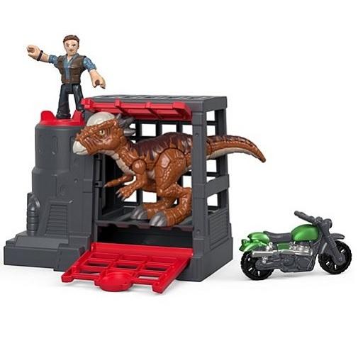 Игровой набор Stygimoloch & Owen Jurassic World Imaginext FMX90