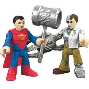 Игровой набор Супергерои Superman & Metallo DC Super Friends Imaginext