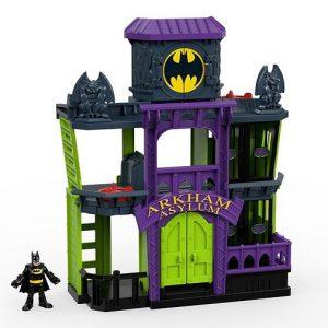 Игровой набор Тюрьма-лечебница Аркхэм Asylum DC Super Friends Imaginext