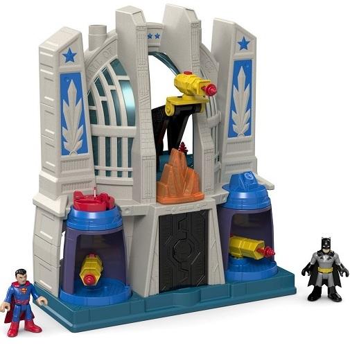 Игровой набор Зал Справедливости Hall of Justice DC Super Friends Imaginext