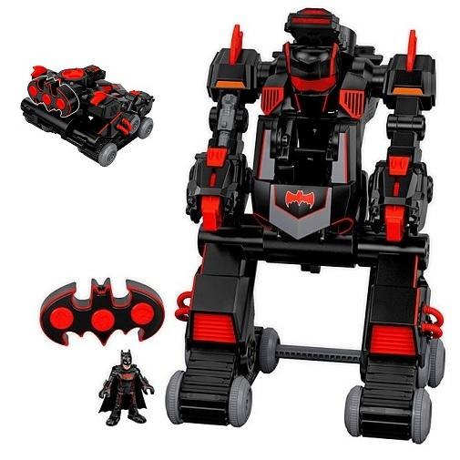 Робот-трансформер интерактивный Бэтмен Танк Batbot DC Super Friends Imaginext